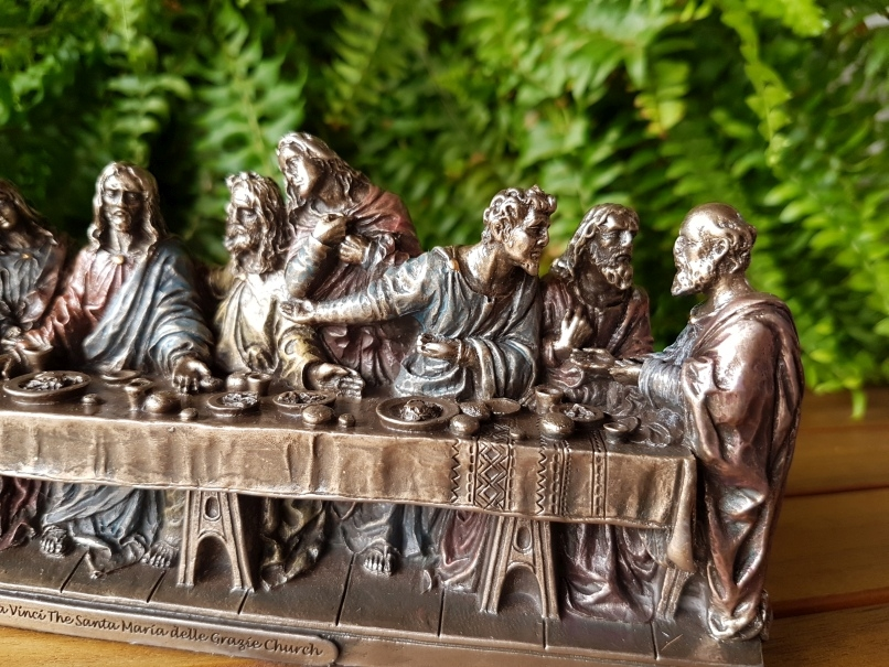 Veronese Last Supper Statue Sculpture - Smaller Th...